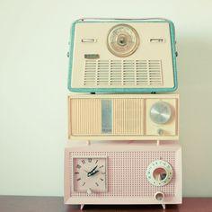Radio Stations. 8x8 Print by LolasRoom x
