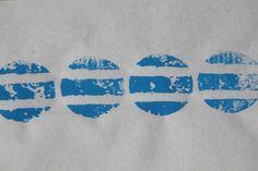 Tampó blau 4