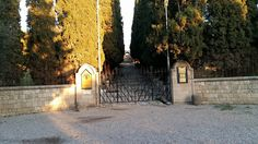 The Entrance Gate To The Filerimos Monastery Entrance Gates, Rhodes, Greece, Most Beautiful, Island, Greece Country, Entrance Doors, Front Gates, Islands