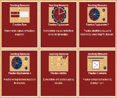 Fractions iPad Android IWB resources