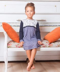 Love this Blue Floral Dress - Toddler & Girls on #zulily! #zulilyfinds