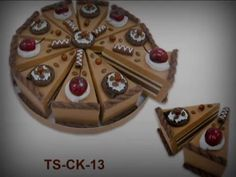 Bodas: Set 10 Cajas Porción Pastelito + Display - YouTube