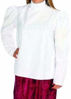 Alexanders Costumes Gibson Girl Blouse, White, Small Alex... https://www.amazon.com/dp/B00EZOAAES/ref=cm_sw_r_pi_dp_x_zU4oyb8616XRG