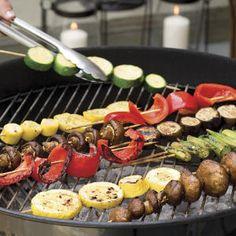 Vegetarian Grilling Recipes: Easy Vegetable Kabobs