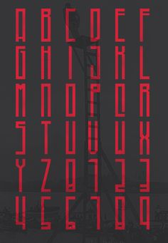 Higher - Free Font by Marisa Passos, via Behance