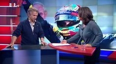 Former F1 driver Jan Lammers talking about Max's sensational achievement in the Spamish GP on Dutch national TV