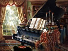 Music Room ~ by Judy Gibson