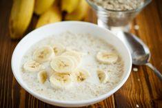 Porridge banane flocon d'avoine