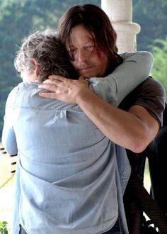 Daryl and Carol in The Walking Dead Season 7 Episode 10 | New Best Friends