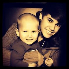 The Bieber Boys♥♥♥ JUSTIN AND HIS BABY BROTHER :) too cute