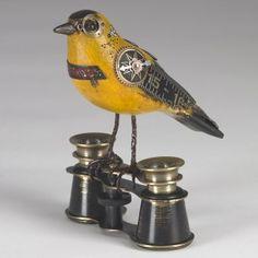 Steampunk song bird from http://mullaniumbyjimandtori.com/catalog/songbirds