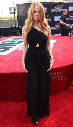 Debby Ryan Cuts A Fine Figure At The MTV Movie Awards!