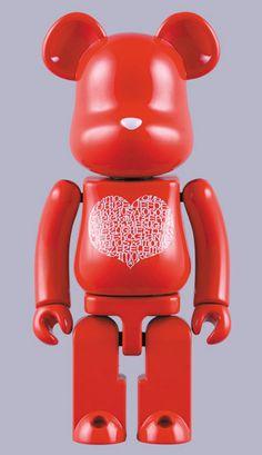 International Love Heart, Chogokin Bearbrick 200%