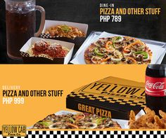 Enjoy Pizza and Other Stuff With Yellow Cab Pizza Philippines | Chef Jay's Kitchen