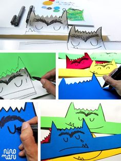 we design for kids Preschool Spanish, Spanish Activities, Preschool Activities, Activities For Kids, Yoga For Kids, Art For Kids, Monster Activities, Spanish Colors, Monster Book Of Monsters