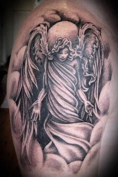 Angel Woman Tattoo Angel tattoos