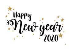 Nieuwjaarskaart happy New Year stars Happy New Year Pictures, Happy New Year Cards, New Year Wishes, Happy New Year 2020, Happy New Year Calligraphy, Happy New Year Wallpaper, New Years Party, Bullet Journal Ideas Pages, New Beginnings
