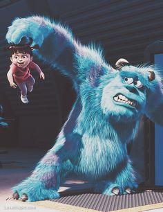 Monsters Inc cute cartoon disney movies