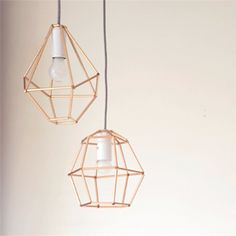 Make this trendy diamond lampshade out of straws. Step by step tutorial with pictures. In swedish.