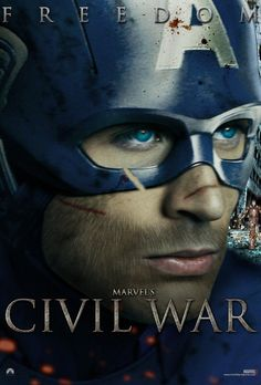 Marvel's Civil War Captain America