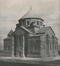 ETCHMIADZIN: St. Hripsime completed in the year (618)