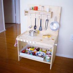 shortyfresh: DIY PLAY KITCHEN #ikea #rast #playkitchen #nontoxic #untreatedwood #holzkueche #selbstgebaut
