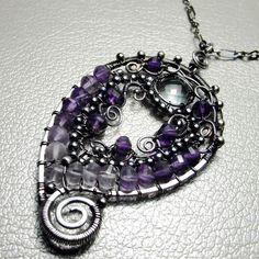 Purple paisley | JewelryLessons.com