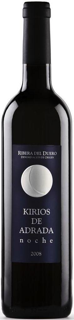Kirios de Adrada Noche 2008  vino de España. DO. Ribera del Duero.  wine / vinho / vino mxm