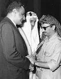Gamal Abdel Nasser and Yasser Arafat