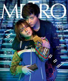 KathNiel for Metro Magazine ❤. Filipino, Prenup Photos Ideas, Photo Ideas, Daniel Padilla, Kathryn Bernardo, Creative Shot, Love Couple, Cover Photos, New Trends