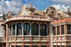 Zaragoza -Detalle de la Casa Solans