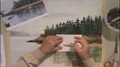 Deb Watson - YouTube:  Magic Eraser Watercolor Trick