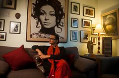 One of the portraits of award winning Indian director Rituparno Ghosh at his Calcutta home Chhandak clicked while…