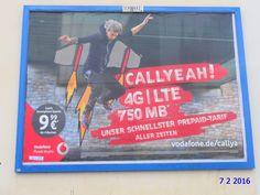772. - Plakat in Stockach. / 07.02.2016./