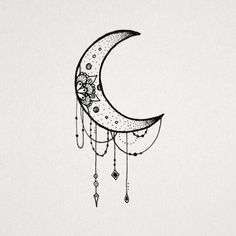 The moon is just one of the most symbolic designs on earth and is connected with many things. It is one of the main players in astrology. It can also be used to symbolize your children as well. Bea…