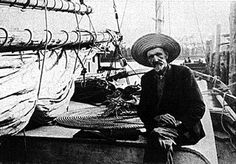 Joshua Slocum- first to sail around the world...alone