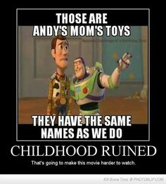 This is so wrong and too damn funny. Toy Story