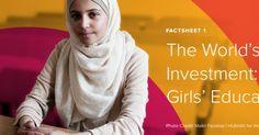 Mejor inversión del mundo: educación de las niñas lhttps://goo.gl/bcBrSC