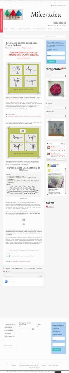The website 'http://www.milcentdeu.com/3-guia-de-puntos-japoneses-punto-cadena' courtesy of @Pinstamatic (http://pinstamatic.com)