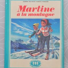 Martine à la montagne   - Pauline et paulette la boutique vintage : www.paulineetpaulette.fr
