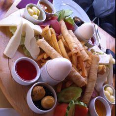 Regular Turkish breakfast.