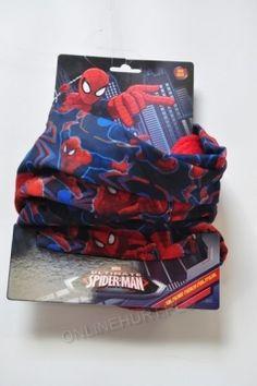 Komin Dziecięcy Ocieplany Spiderman 850-055  _A12