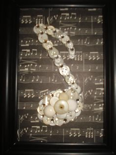 Hey, I found this really awesome Etsy listing at https://www.etsy.com/listing/180428170/framed-eighth-note-button-art