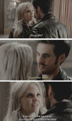 Once Upon a Time. OUaT. Captain Swan. Hook & Emma. Season 4 Episode 8
