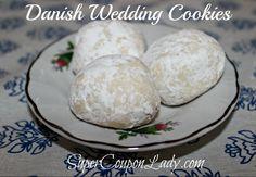 Danish Wedding Cookies Recipe!