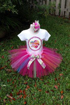 Hey, I found this really awesome Etsy listing at https://www.etsy.com/listing/230889991/lalaloopsy-tutu-set-with-tutu-shirt-and