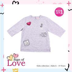 ute shirt with embroided patches is a great choice for her outfit! Shop now  www.jsp962.com  #jsp #jsp962 #kids #baby #kidsfashion #kidsindo #kidsstyle #kidsclothes #kidsclothing #children #bajuanak #anak #instakids #instababy #onlinestore #onlineshop #onlineshopping #bajuanakmurah #bajuanaklucu #bajuanakbranded #bajuanakonline #anakpintar #bajulebaran #kado #kadoanak #bajumuslim #ramadhan2017 #lebaran2017 #ibu #ibudananak