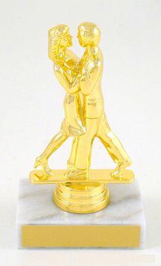 Couples Modern Dance Trophy