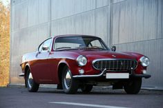 Volvo | P1800 | Red sports car