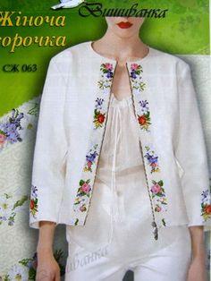 Cross Stitch Flor Padrão De Camisa Feminina vyshyvanka ucraniano Bordado Sv 4